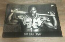 """Bo Jackson Nike """"The Ball Player"""" Poster 1988 Vintage"""