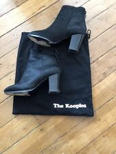 Kooples Poil De Poney Bottines en cuir