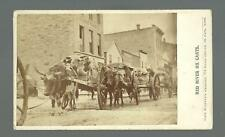 Minneapolis MINNESOTA c1867 RED RIVER OX CART Fur Trade JOEL WHITNEY & Combs