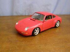 Jouet de collection Burago: voiture Porsche 911 Carrera, éch 1/18è