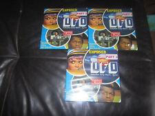 GERRY ANDERSON UFO EXPOSED SUPER 8 COLOUR SOUND 3 X 400FT CINE FILM 8MM