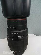 Obiettivo Sigma 70 300 Apo Macro Nikon