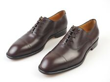 NIB🔥 PAOLO SCAFORA SIZE: US 11.5 & 12 Dress Shoes Derby Dark Brown (MARONE)