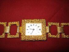 BELAIR Ladies Mechanic Watch Special Occasion Design Gold Tone  Vintage