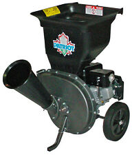 NEW Patriot CSV-3065B 6.5 hp Gas Wood Chipper Leaf Shredder