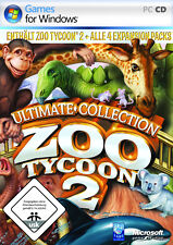 Microsoft Zoo Tycoon 2 - Ultimate Edition (PC, 2008) in Deutsch