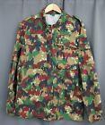 Vintage German Military Camouflage Jacket Size 48