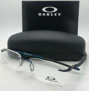 OAKLEY Eyeglasses GAUGE 3.1 OX5126-0354 52-18 Rimless Matte Midnight Blue Frames