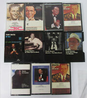11 Rare Collection of Frank Sinatra My Way Greatest Hits Fly Blue Cassette Tapes