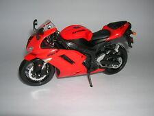 Maisto Kawasaki Ninja ZX-6R / ZX6R rot red,1:12