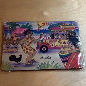 Vintage aruba Mouse Pad