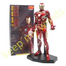 "Crazy Toys Superhero Avengers Iron Man MK45 12"" Figure 1/6TH Statue/Collection"