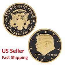 America President Donald Trump In God We Trust Commemorative Coin Souvenir Gold