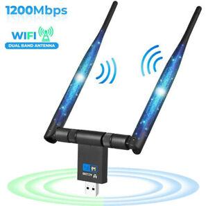 WLAN Stick 1200 Mbit/s USB WLAN Adapter 802.11 AC Dualband WiFi Adapter für PC