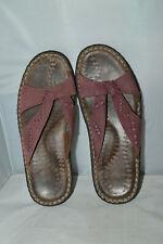 Keen Cush Size UK 7.5 Eu 40.5 women's Slip On Sandals Shoes Purple Leather