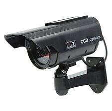 Solar Powered Dummy Surveillance Security Camera CCTV LED Record Light 2 Colors