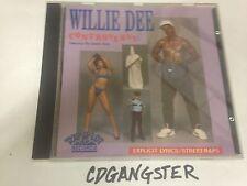 """CD WILLIE DEE d CONTROVERSY """"GHETTO""""BOYS 1989 1ST PRESS NM!! RARE RAP-A-LOT geto"""