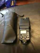 Olympus Electronic Flash FL-50 with Olympus Pouch