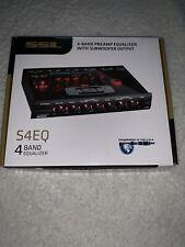 Sound Storm S4Eq 4 Band Pre Amp Equalizer