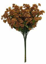 12 Baby's Breath Spray Brown Gypsophila Silk Wedding Bouquet Centerpiece Flowers