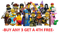 LEGO MINIFIGURES SERIES 12 71007  PICK CHOOSE YOUR OWN + BUY 3 GET 1 FREE