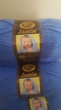 Lion Brand Jamie Baby Yarn  Lot of 6/Six Skeins Little Boy Blue BRAND NEW