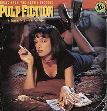 Pulp Fiction-1994-Orig Movie Soundtrack-Plus Quentin Tarantino CD/16 Track-2 CD
