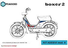 ADESIVI PIAGGIO BOXER Mod.8