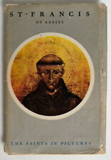 St. Francis of Assisi The Saint in Pictures by Maisie Ward (1950,Hardcover,DJ)