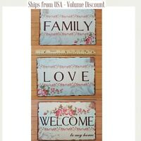 Welcome Sign Love Sign Family Sign Sign for House Sign for Home Sweet Home Sign