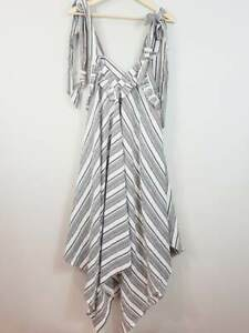 [ THE EIGHTH LETTER ] Womens Striped Boho Dress | One Size (best for up to 16 )