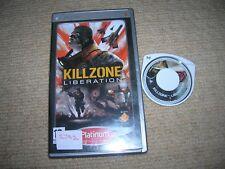 KILLZONE : LIBERATION   - Rare Sony PSP Game