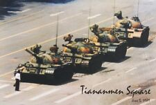 JUNE 5 1989 TIANANMEN SQUARE PROTESTER POSTER NEW 24X36 FREE SHIPPING
