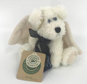 "Boyds Bears GALAXY the Angel Bear 7"" Plush Ornament Stuffed Animal Toy"