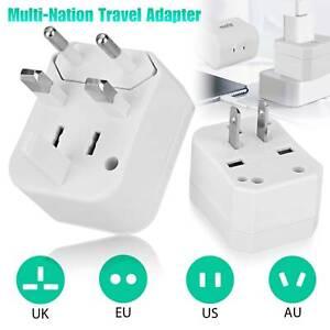 Universal Travel Converter Adapter Plug Power Wall Charger International Jack AC