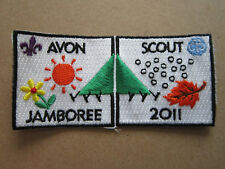 Avon Scout Jamboree 2011 Cloth Patch Badge Boy Scouts Scouting L3K C