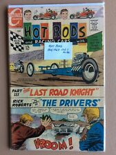 Hot Rods and Racing Cars Comic Book #86 published by Charlton Comics