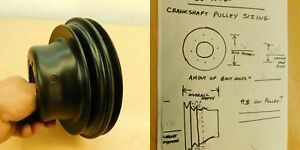 CRANKSHAFT PULLEY 2 GROOVE 1972-74 78-79 MOPAR 318 340 360 SB-40480