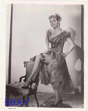 Marie Windsor leggy fishnet stockings Two Gun Lady