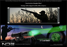 High Power Long Distance Laser Genetics ND3 x30 Green Laser Designator w/ Mounts