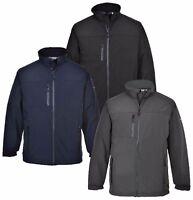 Portwest Softshell Breathable Jacket Waterproof Windproof Coat Work Casual Wear