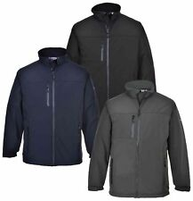 Portwest Softshell Breathable Jacket Waterproof Windproof Coat Work Casual Wear