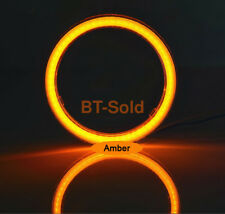2 Pcs 40-75MM COB Angel Eyes Halo 12V SMD Car LED Light Ring DRL Headlight Lamp