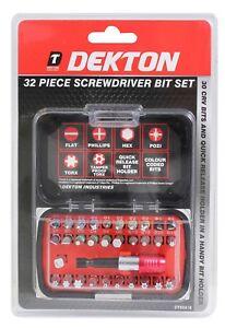 32pc Screwdriver Set with Magnetic Extension Bit Holder, Portable Repair Tool Ki