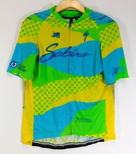 SPECIALIZED SABINO Logo CYCLING JERSEY Tucson Arizona MEN'S XL