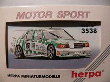 1/87 Herpa MB 190 e 2.5-16 EVO II ONS DTM #19 Asch 3538 zackspeed