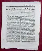 Journal Royaliste Quimper en 1791 Blanchelande Haïti Beauharnais Arles  Provence
