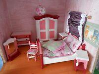 Schlafzimmer**unbespielt**Einzelstück**einzelne Teile Bodo Henning**Komplett-Set