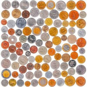 100 DIFFERENT COINS FROM EUROPE INCL. NON EXISTENT COUNTRIES