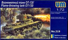 UM-MT Models 1/72 Soviet OT-130 FLAME THROWER TANK